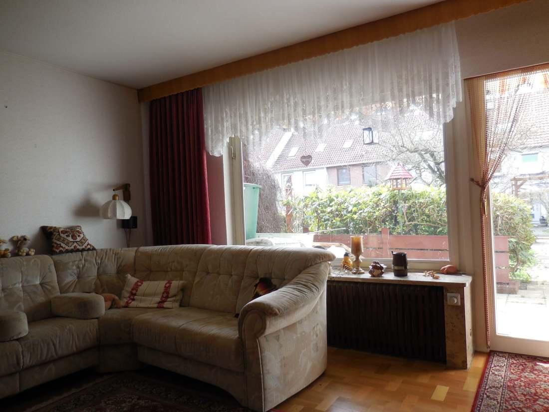 Wohnzimmer Immobilie Bremen Lesum