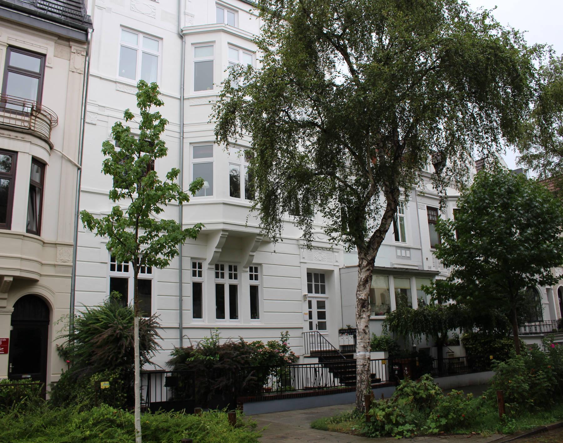 Verkauft Seltene Gelegenheit Helle Wohnung Im Altbremer Haus Mit