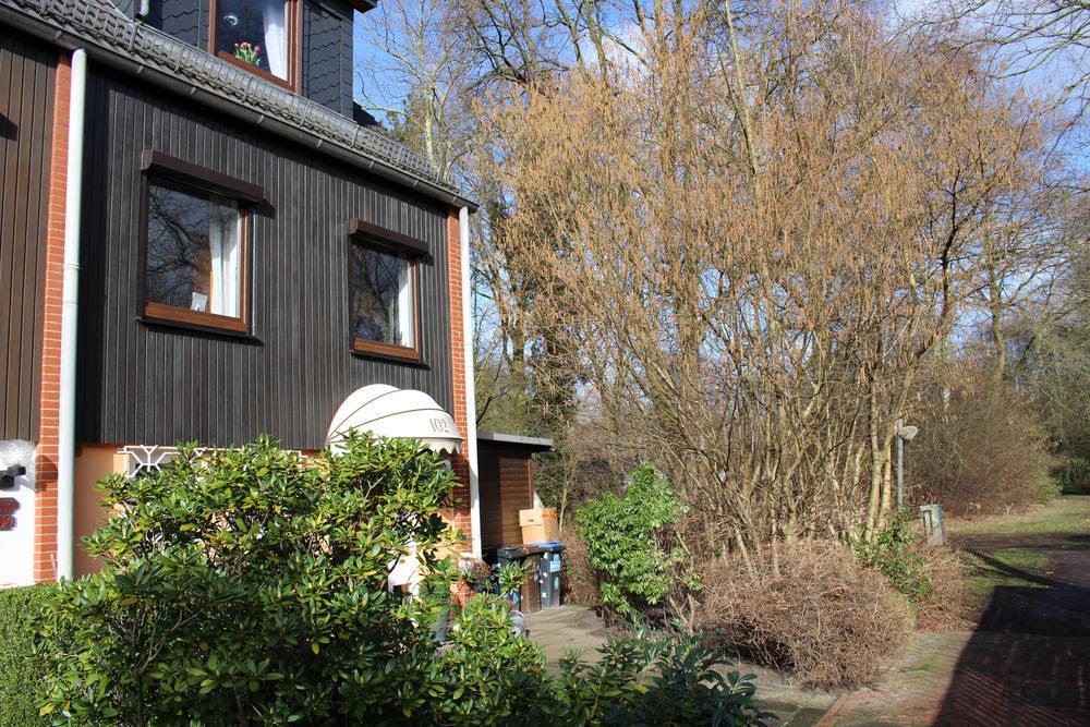 Vorderansicht Haus Bremen Horn · Garten · Garten2